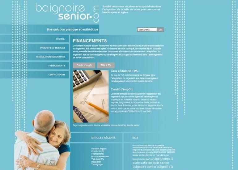 Baignoire Senior